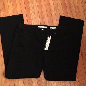 NWT new Jones New York plus size black jeans